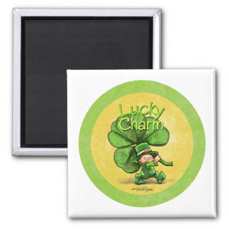 Lucky Charm Sticker Magnets