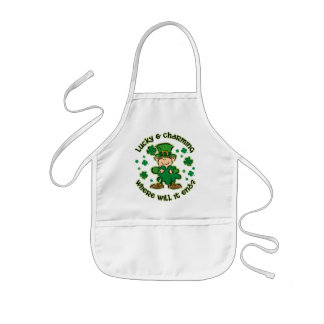 Lucky & Charming Kids Apron