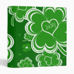 LUCKY CHARMS 3 RING BINDER