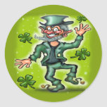 Lucky Charms Classic Round Sticker