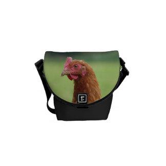 Lucky chicken courier bag
