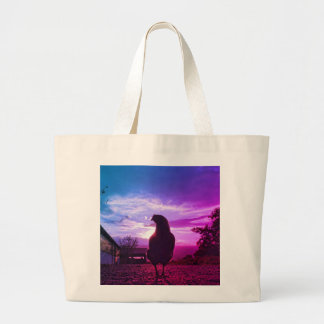 Lucky chicken large tote bag