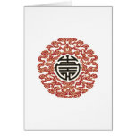 Lucky Chinese Charm Greeting Cards