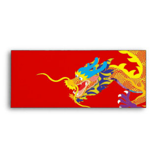 Lucky Chinese Dragon Envelope
