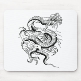 Lucky Chinese Dragon Mouse Pad