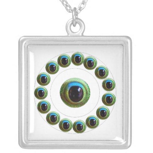 Lucky Chinese Dragon's Eye - WILL KILL EVIL Custom Necklace