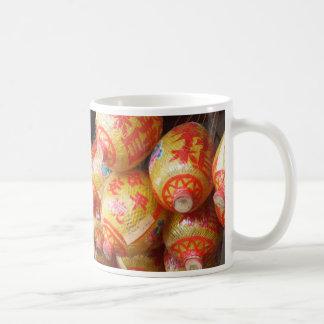 Lucky Chinese Paper Lanterns Coffee Mug