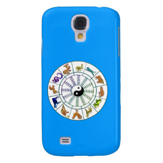 Lucky Chinese Zodiac Wheel, Chinese Astrology Galaxy S4 Case