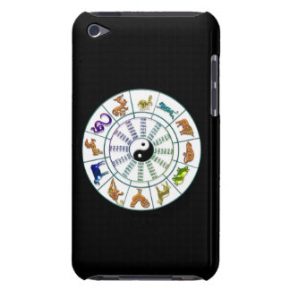 Lucky Chinese Zodiac Wheel, Chinese Astrology iPod Touch Cases