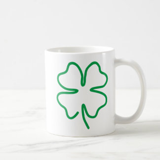 Lucky Classic White Coffee Mug