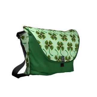 Lucky Clover Bag Courier Bags