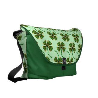 Lucky Clover Bag Courier Bag