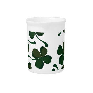 lucky clover beverage pitchers