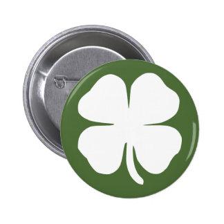 Lucky Clover Button