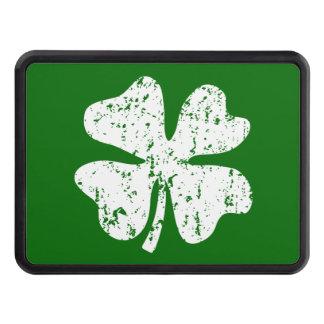 Lucky clover car hitch cover   Irish shamrock