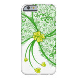Lucky clover filigree barely there iPhone 6 case