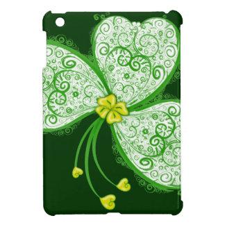 Lucky clover filigree case for the iPad mini
