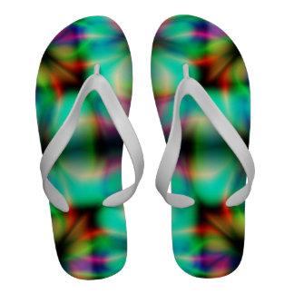 Lucky Clover Flip-Flops