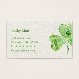 Lucky Clover | Floral Business Card