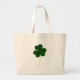 Lucky clover large tote bag