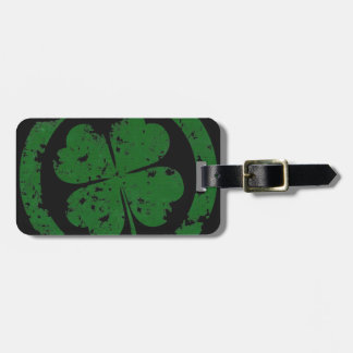 Lucky Clover Tag For Luggage