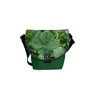 Lucky Clover Messenger Bag