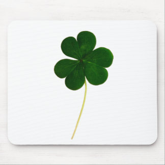 Lucky clover mouse pad