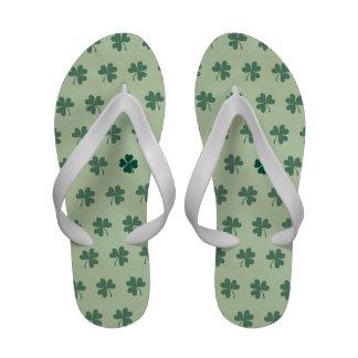 Lucky Clover Pattern Sandals