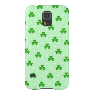 Lucky clover pattern galaxy s5 cases