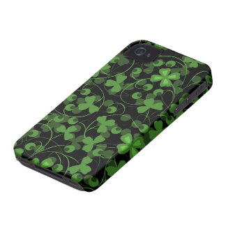 Lucky Clovers iPhone 4 Case-Mate Case
