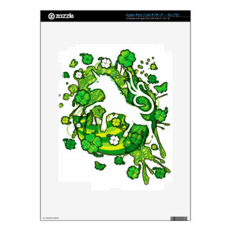 Lucky_Clovers Decal For iPad 3