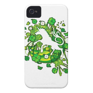 Lucky_Clovers iPhone 4 Case-Mate Case