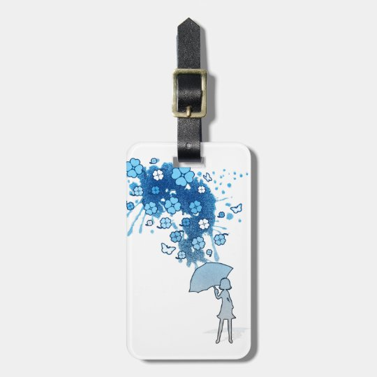 Lucky_Clovers Luggage Tag