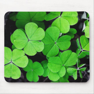 Lucky Clovers Mouse Pad
