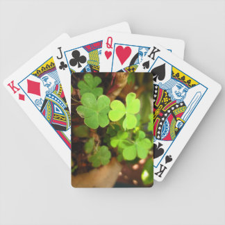 Lucky Clovers Playing Card Deck