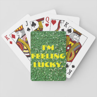 Lucky Clovers Playing Cards, Standard Index faces Playing Cards
