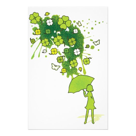 Lucky_Clovers Stationery