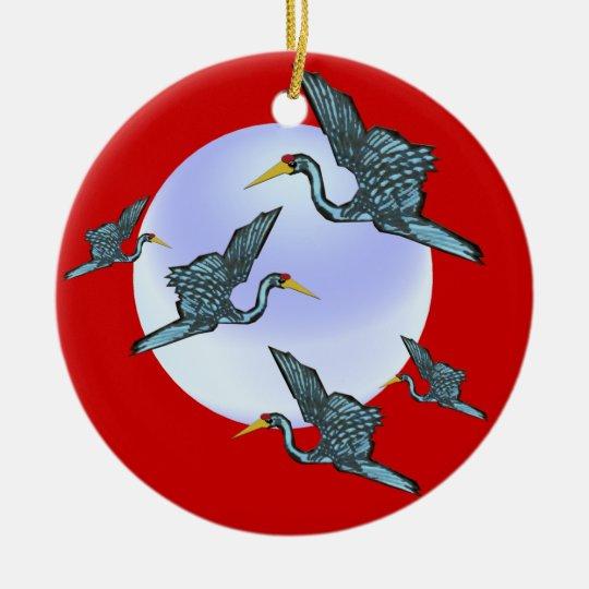 Lucky Cranes Ornament