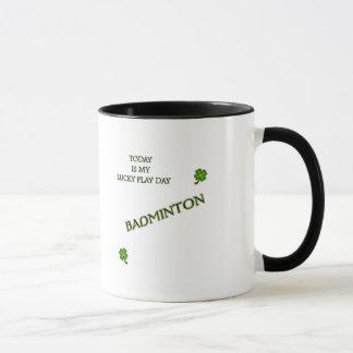 Lucky Day Badminton Mug