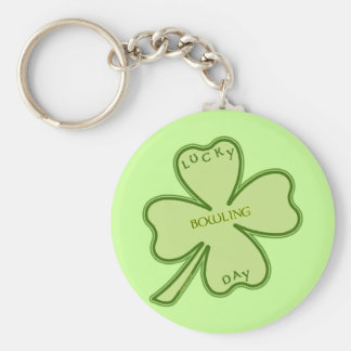 Lucky Day Bowling Keychain