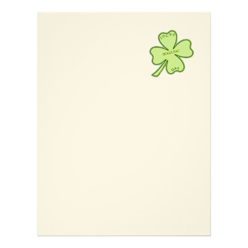 Lucky Day Bowling Letterhead Design