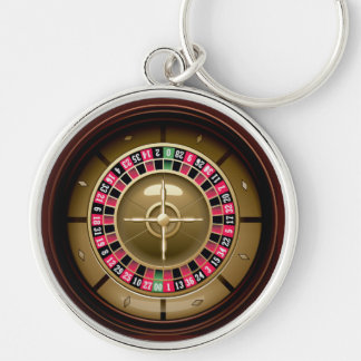 Lucky Day Roulette Keychain