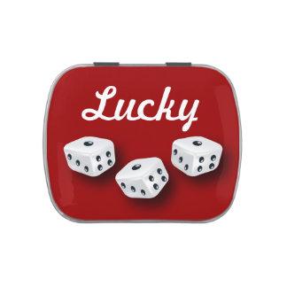 Lucky Dice Candy Tin