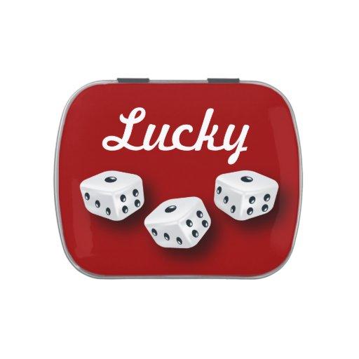 Lucky Dice Jelly Belly Tin