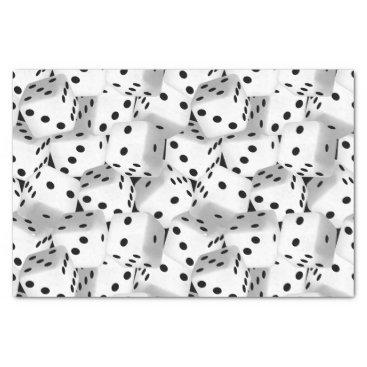 adamfahey Lucky dice tissue paper