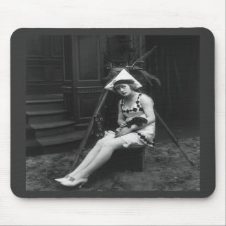 Lucky Dog, 1919 Mouse Pad