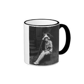 Lucky Dog, 1919 Coffee Mugs