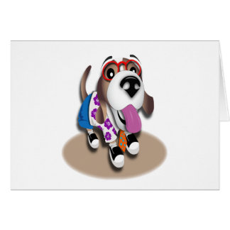 Lucky Dog Greeting Card