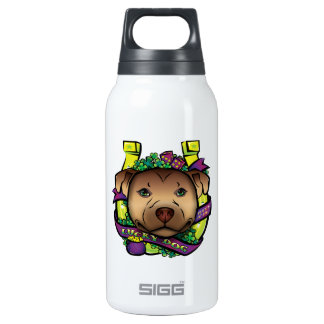 Lucky Dog Insulated Water Bottle