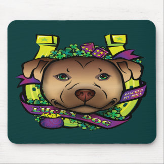 Lucky Dog Mouse Pad